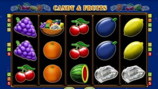 Candy & Fruits Spielautomat