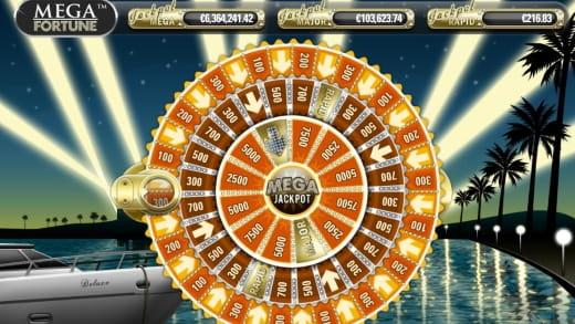 Mega Fortune Jackpotspiel