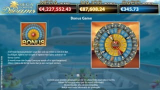 Mega Fortune Dreams Bonusspiel