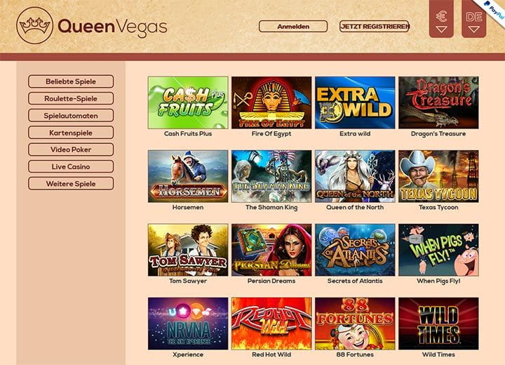 queenvegas-games