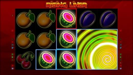 Rising Liner Bonusspiel